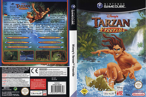 Tarzan Freeride GameCube cover (GTZP41)