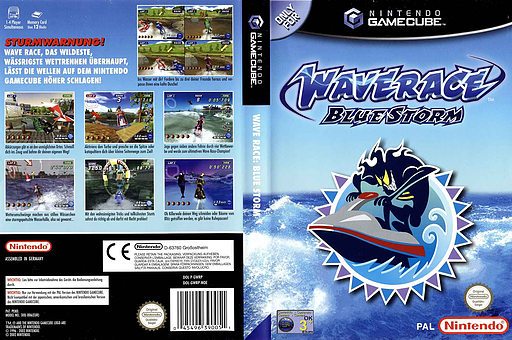 Wave Race: Blue Storm GameCube cover (GWRP01)