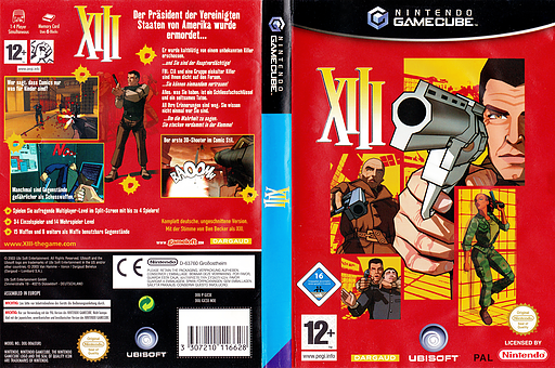 XIII GameCube cover (GX3X41)
