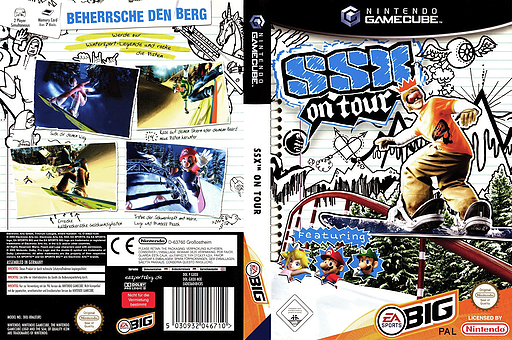 SSX On Tour GameCube cover (GXOX69)