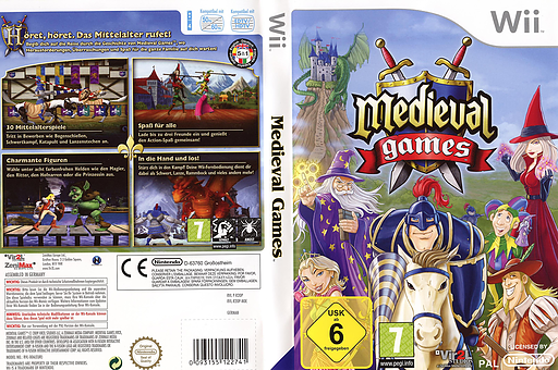 Medieval Games Wii cover (R2OP68)