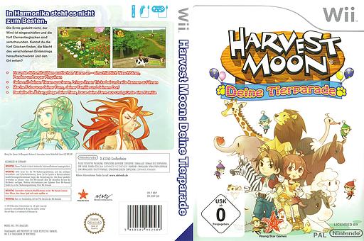 Harvest Moon: Deine Tierparade Wii cover (RBIP99)