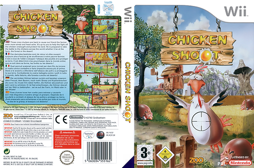 Chicken Shoot Wii cover (RCSP7J)