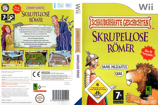 Schauderhafte Geschichten: Skrupellose Römer Wii cover (RIOPSU)