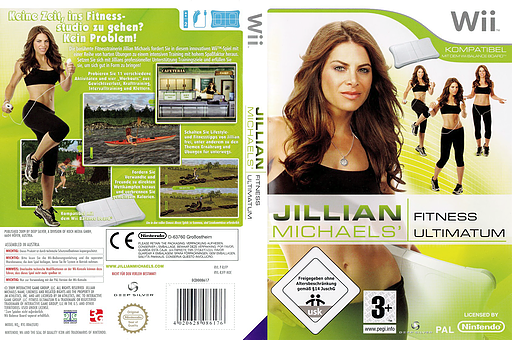 Jillian Michaels Fitness Ultimatum 2009 Wii cover (RJFPKM)