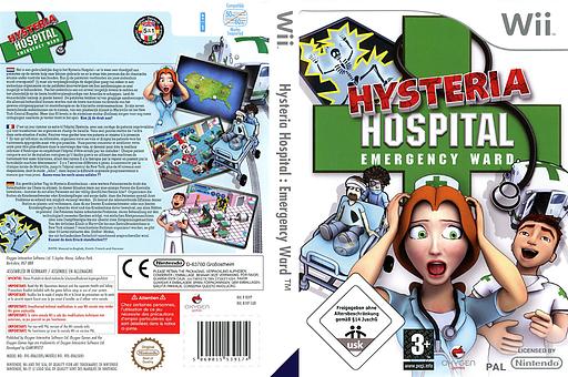 Hysteria Hospital: Emergency Ward Wii cover (RJVPGN)