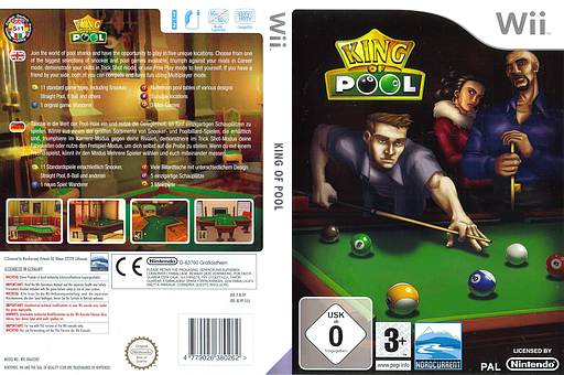 King of Pool Wii cover (RL9PHZ)