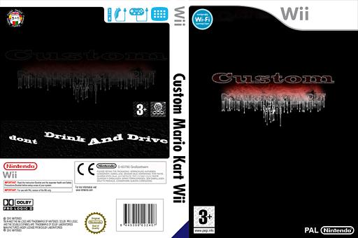 Custom Mario Kart Wii CUSTOM cover (RMCP05)