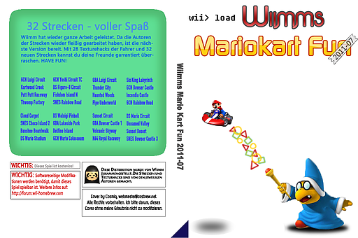 Wiimms MKW Fun 2011-07.pal CUSTOM cover (RMCP10)