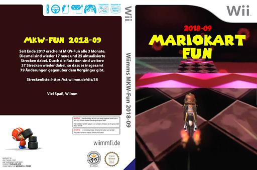 Wiimms MKW-Fun 2018-09.pal CUSTOM cover (RMCP38)