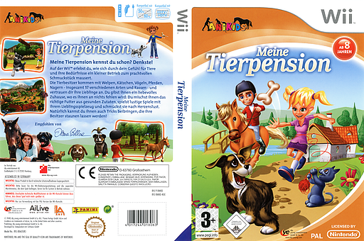 Meine Tierpension Wii cover (RMNDFR)