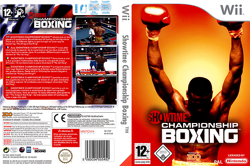 Showtime Championship Boxing Wii cover (RSYP7J)