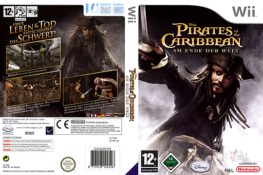 Pirates of the Caribbean: Am Ende der Welt Wii cover (RW3P4Q)
