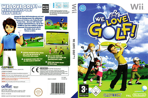 We Love Golf! Wii cover (RWGP08)