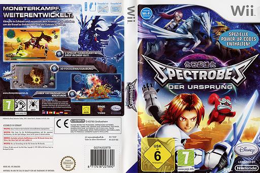 Spectrobes: Der Ursprung Wii cover (RXXP4Q)