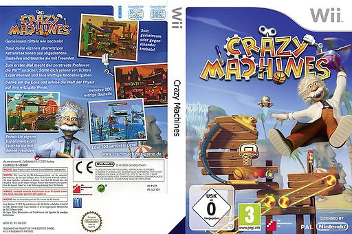 Crazy Machines Wii cover (SCZPFR)