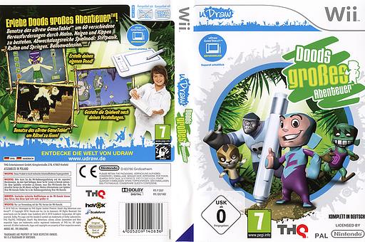 Doods großes Abenteuer Wii cover (SDLP78)