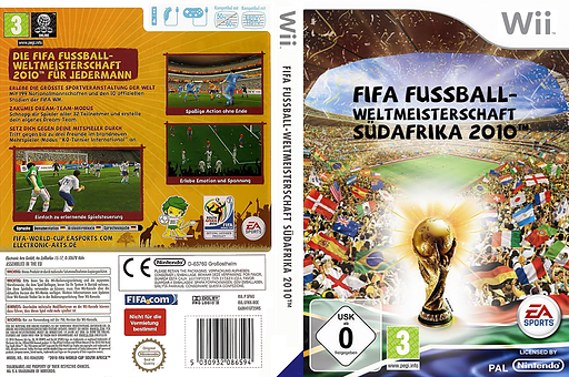 2010 FIFA World Cup South Africa Wii cover (SFWY69)