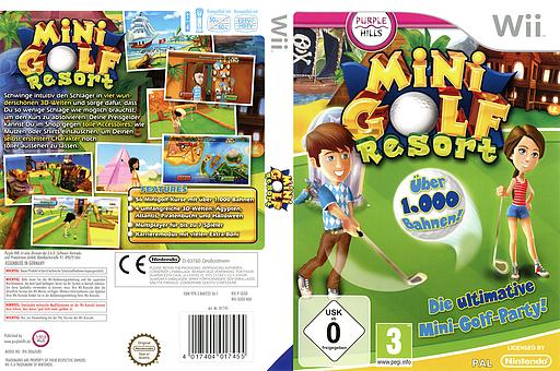 Mini Golf Resort Wii cover (SGODKP)