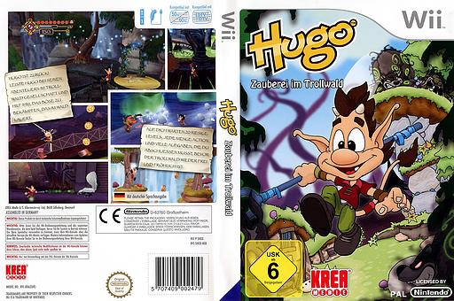 Hugo - Zauberei im Trollwald Wii cover (SHOXKR)