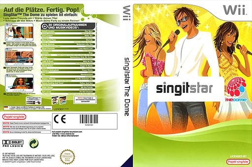 SingItStar The Dome CUSTOM cover (SISDOH)