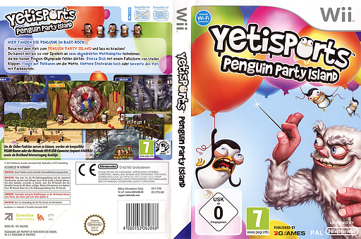 Yetisports: Penguin Party Island Wii cover (SPYDSV)