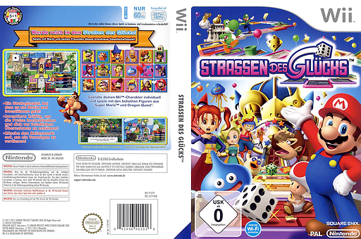 Straßen des Glücks Wii cover (ST7P01)