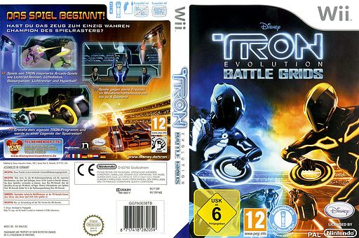 Tron: Evolution - Battle Grids Wii cover (STRP4Q)