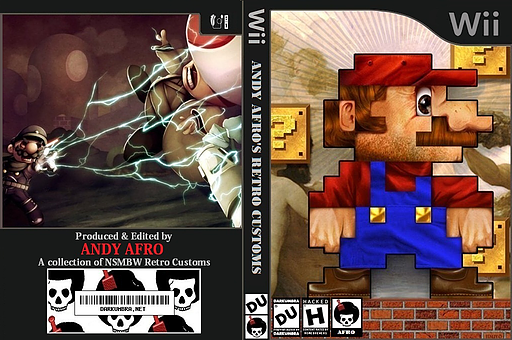 New Super Mario Bros. Wii ANDY AFRO'S Custom Collection Volume 2. CUSTOM cover (APRP01)
