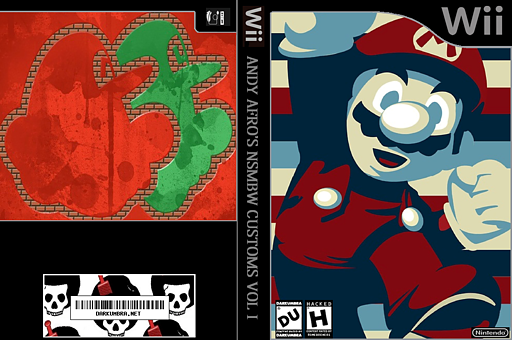 New Super Mario Bros. Wii ANDY AFRO'S Custom Collection Volume 1. CUSTOM cover (APRP08)