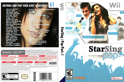 StarSing:Pop Part. I v2.0 CUSTOM cover (CS0PZZ)