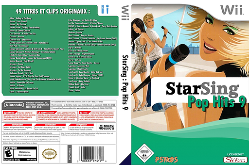 StarSing:Pop Hits 9 v1.0 CUSTOM cover (CS9PZZ)