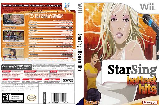 StarSing:Hottest Hits v2.0 CUSTOM cover (CSCPZZ)