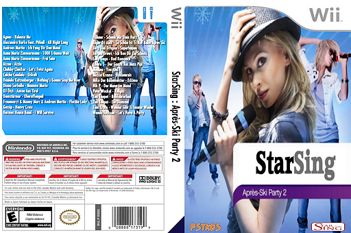 StarSing : Après-Ski Party 2 v2.0 CUSTOM cover (CSSP00)
