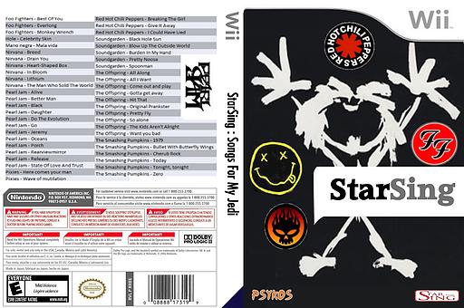 StarSing:Songs For My Jedi v2.0 CUSTOM cover (CT5P00)