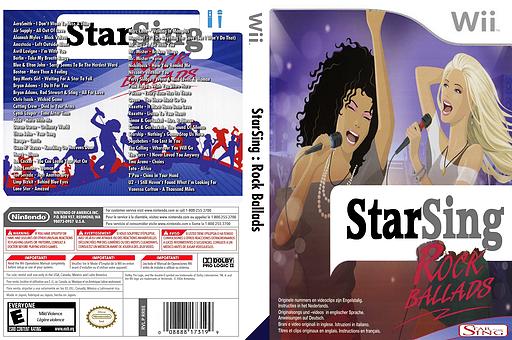 StarSing:Rock Ballads v2.0 CUSTOM cover (CTFP00)