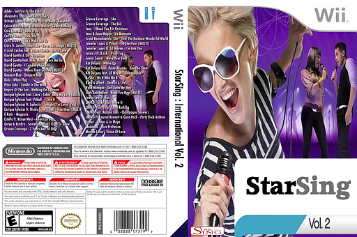 StarSing : International Volume 2 v1.0 CUSTOM cover (CTSP00)