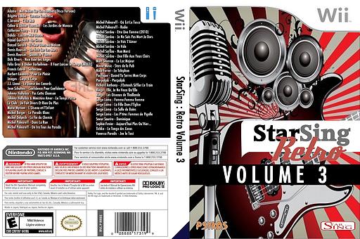 StarSing:Retro Volume 3 v1.0 CUSTOM cover (CU0P00)