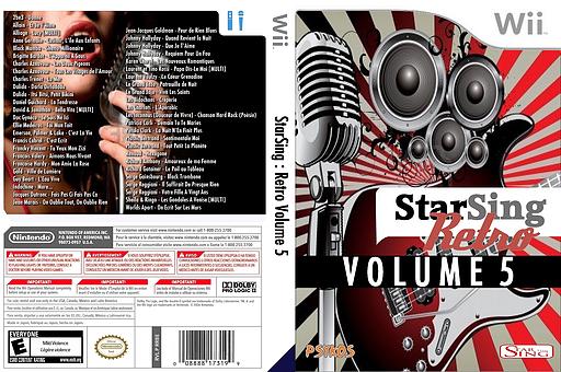 StarSing:Retro Volume 5 v1.0 CUSTOM cover (CU4P00)