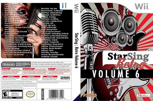 StarSing:Retro Volume 6 v1.0 CUSTOM cover (CU7P00)