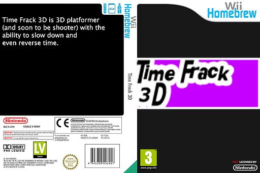 Time Frack 3D Homebrew cover (D3DA)