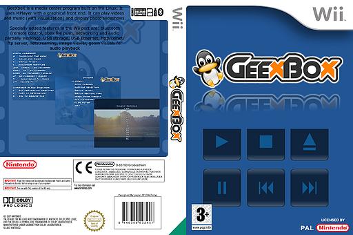Geexbox Homebrew cover (DGBA)