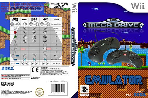Genesis Plus Homebrew cover (DGPA)