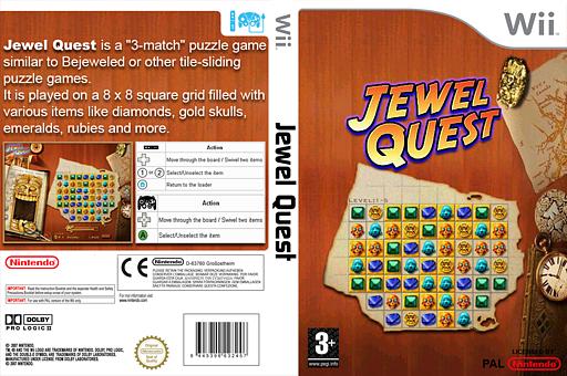 Jewel Quest Homebrew cover (DJQA)