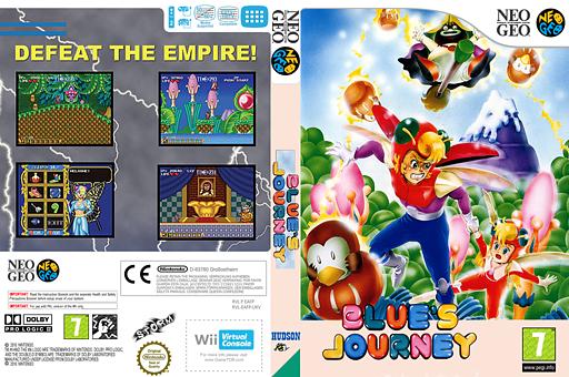 Blue's Journey VC-NEOGEO cover (EAFP)