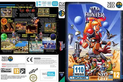 Top Hunter VC-NEOGEO cover (EAIP)