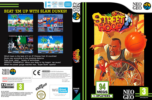 Street Hoop VC-NEOGEO cover (EBEP)