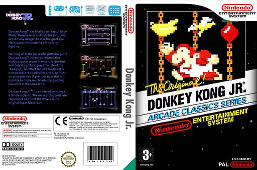 Donkey Kong Jr. VC-NES cover (FABP)