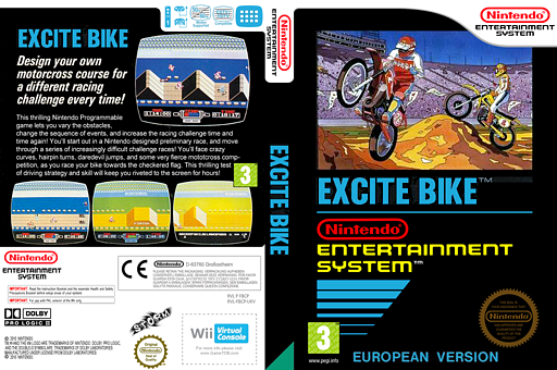 Excitebike VC-NES cover (FBCP)