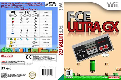FCE Ultra GX Homebrew cover (FCEU)